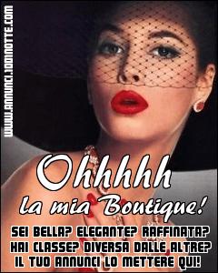 Banner Ohhh La Mia Boutique!
