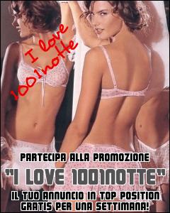 Banner I love 1001notte