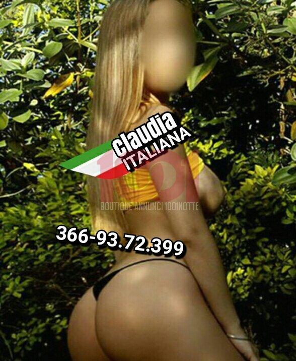 Claudia italiana 22 anni